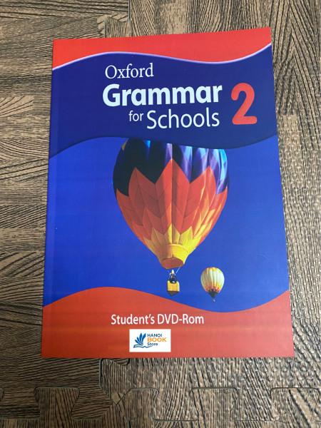 sách Oxford Grammar for Schools 2 ( sách màu)