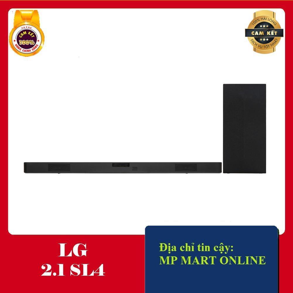 Tiết Kiệm Cực Đã Khi Mua Loa Soundbar LG 2.1 SL4 (300W)