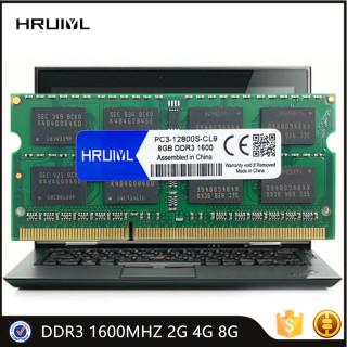 HRUIYL Laptop RAM DDR3 1600MHZ 2G 4G 8G Memoria Sdram PC3-12800S 1.5V 204 Pin High Performance Notebook Memory Original Chip thumbnail