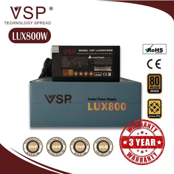 Giá Nguồn Công Suất Thực VSP LUX 800W LED RGB