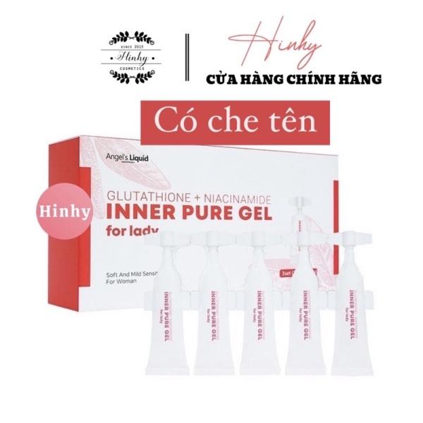 Tinh Chất Làm Hồng Se Khít Vùng Kín Angel Liquid Glutathione Plus Niacinamide Inner Pure Gel