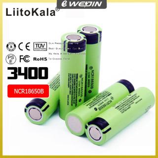 [Chính hãng] Pin 18550 - NCR18650B 34B 3400mah pin 3.7v 3400 mah Lithium Pin Li-on Cell Flat Top Pin có thể sạc lại cho Panasonic thumbnail