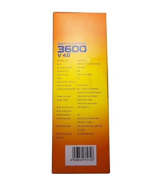 Bảng giá Smart - TV Karaoke 3600 (4.0)