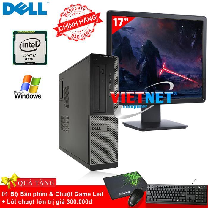 Máy tính đồng bộ Dell Optiplex core i7 - 3770 Ram 4GB ổ cứng HDD 250GB (Tặng màn hình LCD 17 inch)
