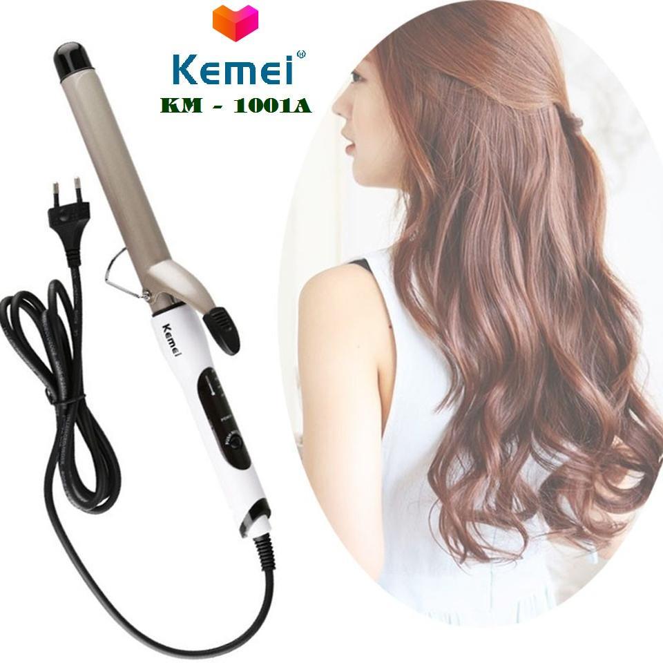 Máy uốn xoăn tóc tự động Kemei KM-1001A chuyên nghiệp tại nhà (Có video hướng dẫn) cao cấp