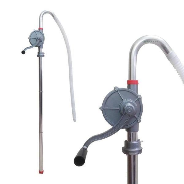 [Hàng loại 1] Dụng cụ bơm hút chất lỏng - Bơm dầu bằng tay hợp kim nhôm bền đẹp