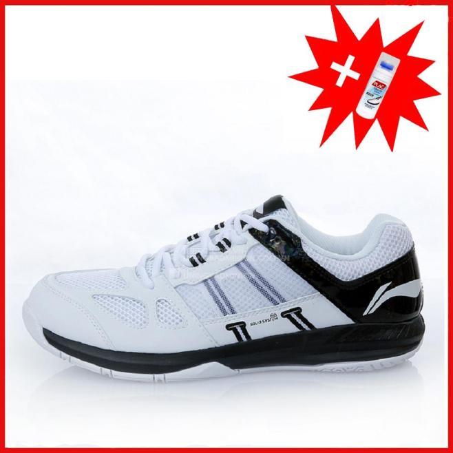 Giày cầu lông nam Lining cao cấp AYTN043-1 (màu trắng đen) giá rẻ