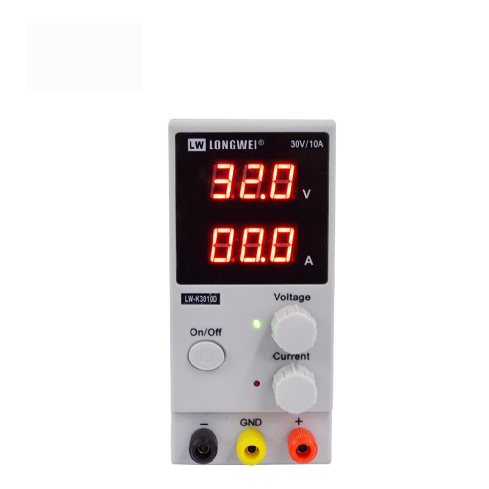WD LW-K3010D Adjustable 30V 10A DC Power Supply Voltage Regulator LED Test Aging Adjustable Electroplating Power Source