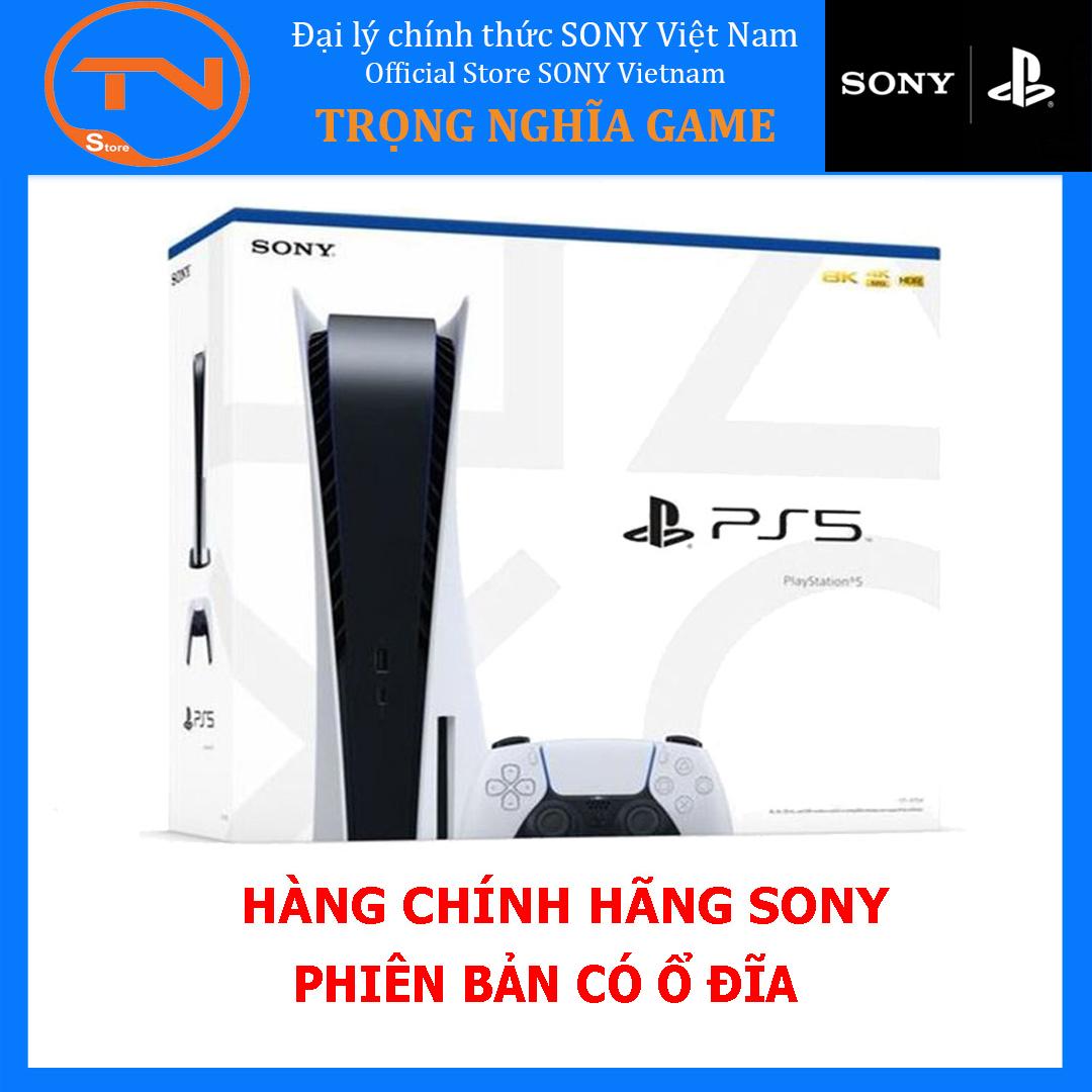 Máy PS5 Ổ Đĩa Chính Hãng Sony Việt Nam