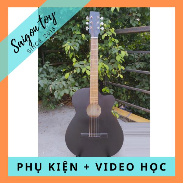 Đàn Guitar Acoustic cho người mới tập chơi SGT008 TẶNG kèm phụ kiện