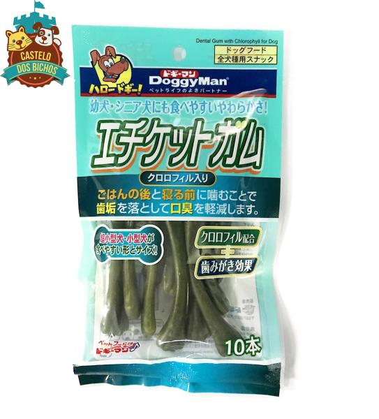 Xương gặm - xương xanh sạch răng thơm miệng cho chó Doggy Man - Loại 10 cây