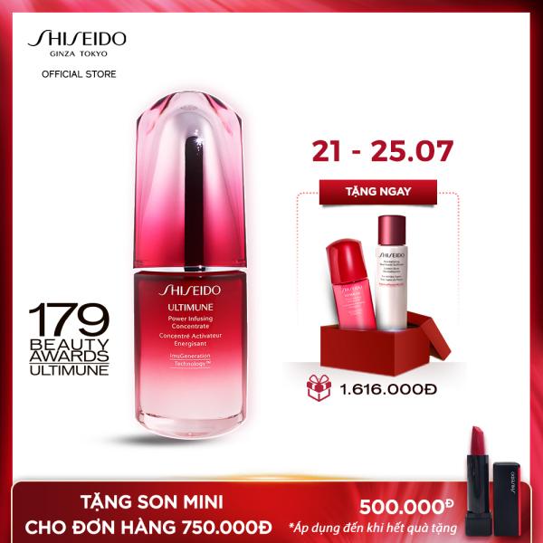 Tinh chất dưỡng da Shiseido Ultimune Power Infusing Concentrate N 30ml cao cấp