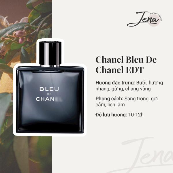 [Chiết 10ml] Nước Hoa Nam Bleu Chanel EDT - Nam Tính, Lịch Lãm