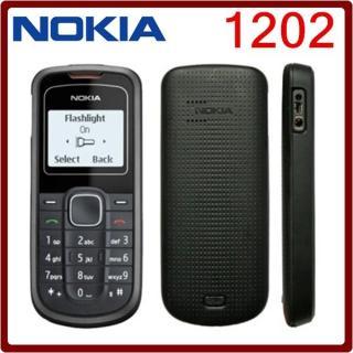 điện thoại nokia 1202 chính hãng - tặng kèm pin sạc thumbnail