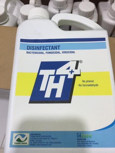 TH4 1Lít. Diệt khuẩn, diệt nấm, Diệt virus