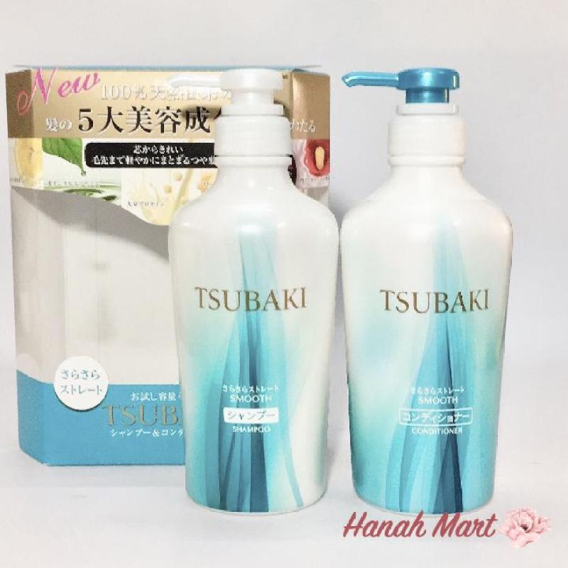 Bộ Gội và Xả Thảo Dược Tsubaki Màu Xanh Trị Ngứa và Tóc Hư Tổn Chai(315ml) giá rẻ