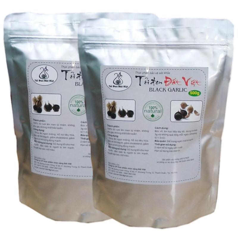 HOT HOT Combo 2 túi tỏi đen cô đơn Đất Việt ( 500gr/túi ) cao cấp