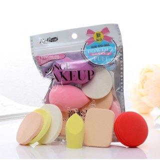Bộ 6 bông mút trang điểm - tán kem nền đa năng keli sponge makeup - bộ 6 mút trang điểm sponge make up - mút trang điểm sponge make up - trang điểm dụng cụ làm đẹp - bịch 6 miếng thumbnail