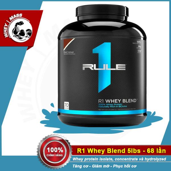 Sữa Tăng Cơ Cho Người Tập Gym Rule 1 Blend 5lbs (2.3 kg)