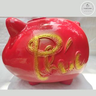 Lợn đất tiết kiệm đựng tiền size SIÊU TO cute đẹp giá rẻ TABILINE LD06 8