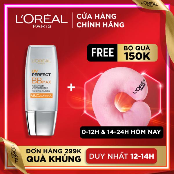 Kem chống nắng bảo vệ & dưỡng da trang điểm LORÉAL BB Cream UV Perfect Max SPF 50+ PA+++ 12h 30ml