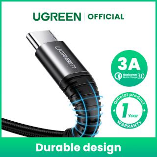 UGREEN 3A USB C Cable for OPPO Realme 5 Huawei Nova 5TSamsung S10 A30 A50 A70 S10 S9 Note 9 Xiaomi Mi 9 8 Fast Quick Charge Type-C Cable for Redmi note 7 Type C Charger Cord thumbnail