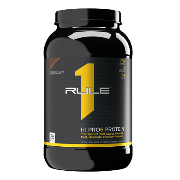 Bổ sung 6 loại protein Rule 1 Pro6 Protein 2lb - 900g