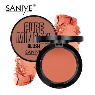 SANIYE phấn má hồng kèm gương phù hợp mọi loại da mỹ phẩm trang điểm xinh xắn dành cho bạn gái E0119 - INTL thumbnail