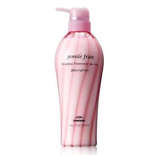 [HCM]Dầu xả cho tóc khô xơ hư tổn Milbon Jemile Fran Heatgloss Hair Treatment (Diamond) 500ml - tóc trung bình to sợi thumbnail
