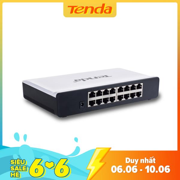 Bảng giá Tenda Bộ chia mạng Switch S16 16 cổng Ethernet - Hãng phân phối chính thức Phong Vũ