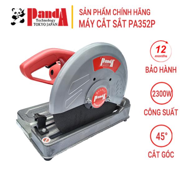 Máy cắt sắt PANDA PA352P, Công suất 2300W, Cắt góc 45 độ, Tặng kèm lưỡi cắt