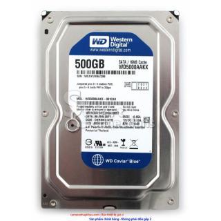 [HCM]Ổ cứng máy tính WD Blue 500GB - HDD WD 500GB - BH 2 Năm - 1 đổi 1 thumbnail
