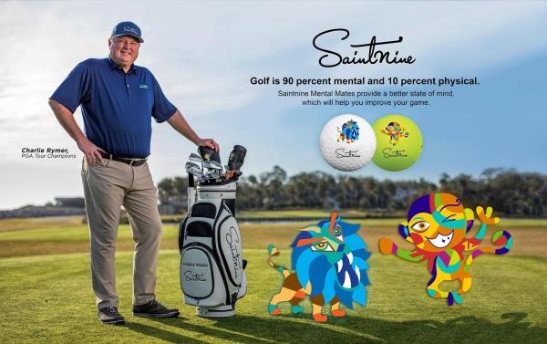 Bóng đánh golf SAINTNINE Trắng
