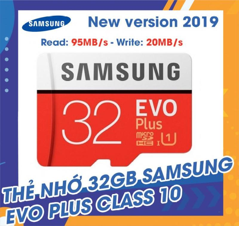 Thẻ nhớ MicroSDHC Samsung EVO Plus 32GB 95MB/s (New 2019) Class10