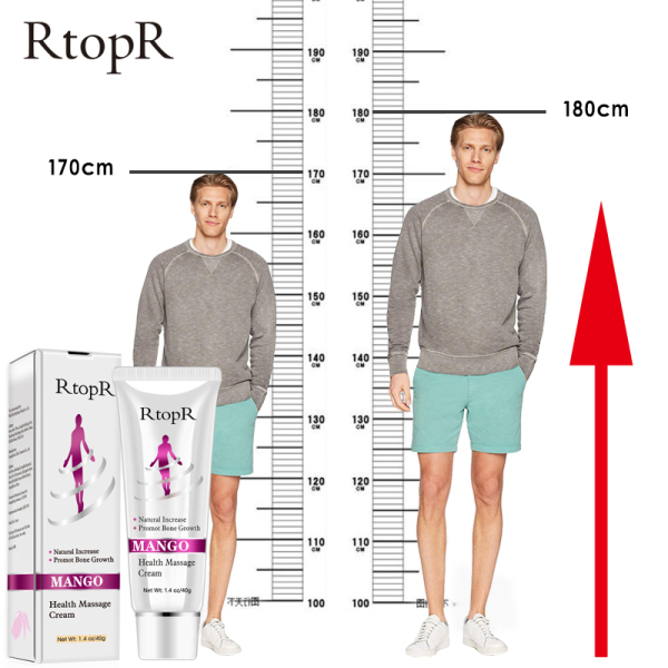 RtopR Mango Pure Natural Health Massage làm tăng tăng trưởng cơ thể Cao sức khỏe Massage Kem chăm sóc chân Sản phẩm thúc đẩy sự phát triển xương cao cấp