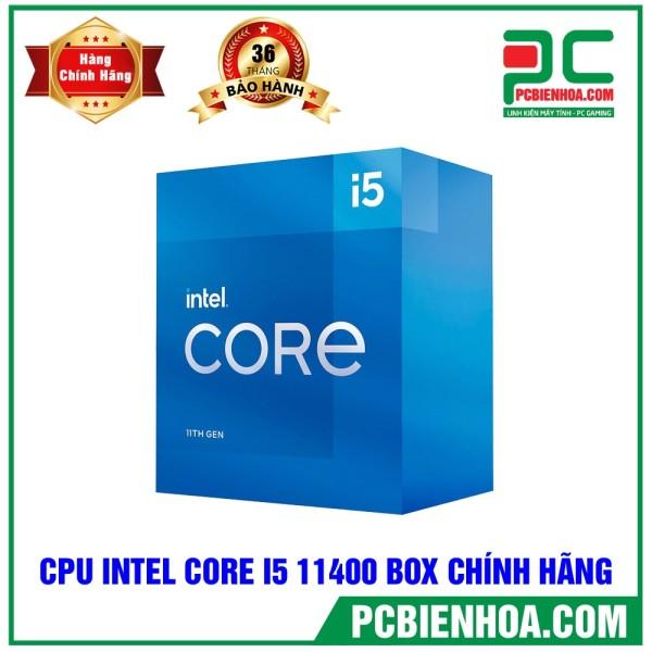 Bảng giá CPU INTEL CORE I5 11400 BOX CHÍNH HÃNG ( VIỄN SƠN / VIẾT SƠN / FPT ) Phong Vũ