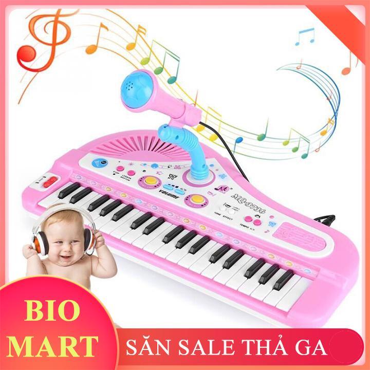 ĐÀN PIANO ĐIỆN TỬ - ĐÀN PIANO 37 PHÍM CHO BÉ KÈM MIC - BIO10