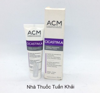 ACM CICASTIM.A - Kem Giảm Thâm Bầm Tím - Bot 20ml thumbnail