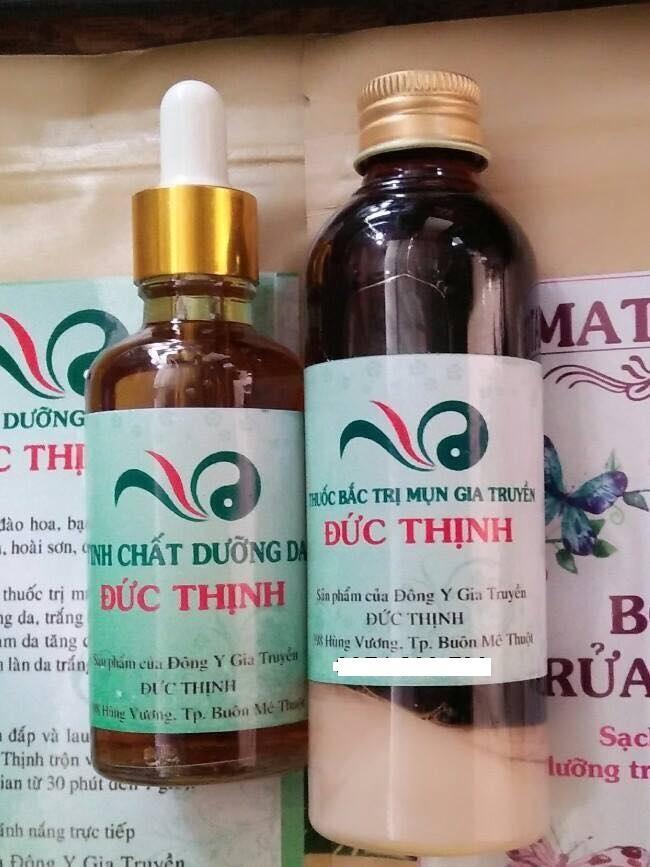 COMBO Chai tái tạo trị mụn (100ml) tặng kèm serum dưỡng da (30ml)