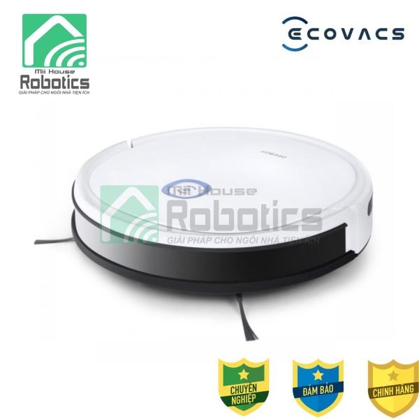Robot hút bụi lau nhà Ecovacs Deebot U2 Pro - Model 2021 - Tự động vệ sinh