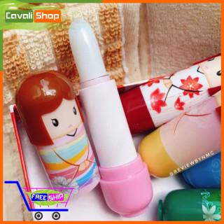 [SIÊU RẺ] Son gió dưỡng môi hình búp bê - Cavali - Son dưỡng có màu cho môi căng bóng, hồng tự nhiên thumbnail