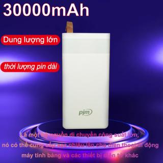 Pin sạc dự phòng di động 30000mAh sạc dự phòng JUYUPU PR-6C cho Samsung OPPO VIVO Huawei XIAOMI sạc dự phòng thumbnail