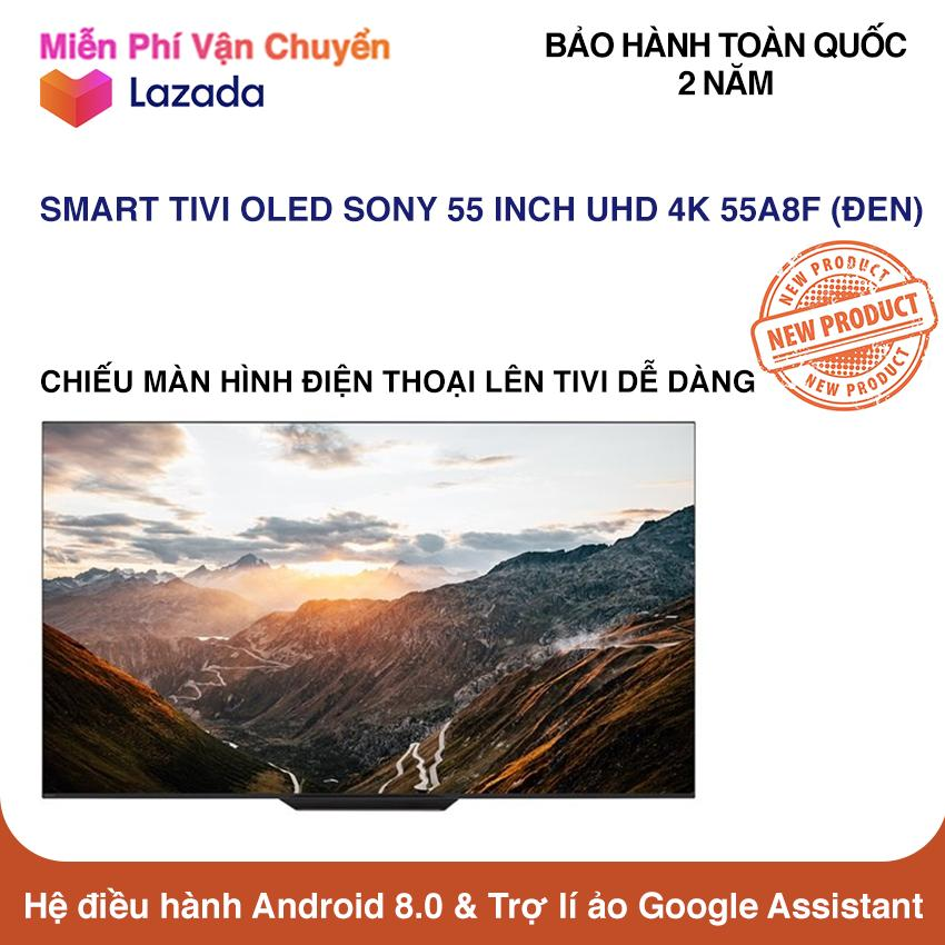 Smart Tivi OLED Sony 55 inch Ultra HD 4K - Model 55A8F (Đen) NEW 100%