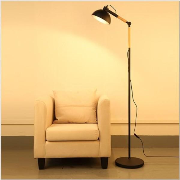 Bảng giá Đèn cây đứng - đèn sàn nội thất nhập khẩu cao cấp Timothy - tặng kèm bóng LED Rạng Đông chính hãng