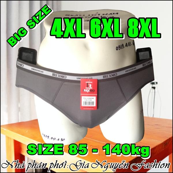 Nơi bán Size ĐẠI: Combo 4 Quần lót nam Big size (size 4XL đến 8XL) dành riêng cho người mập