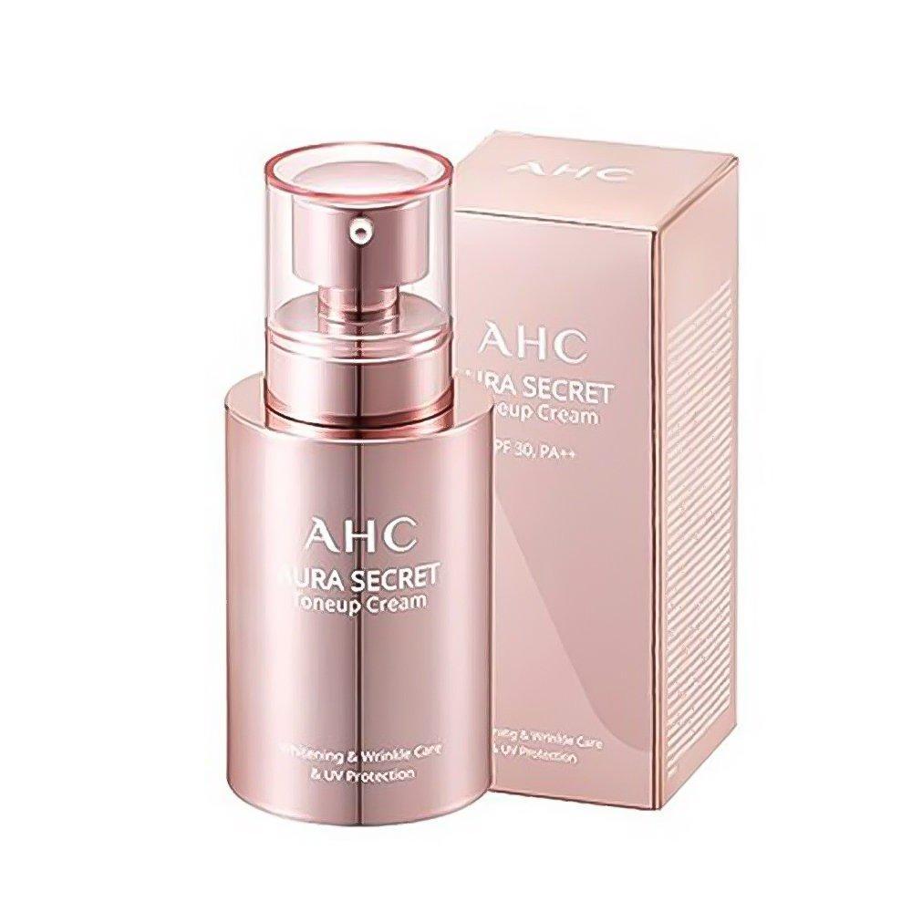 Kem dưỡng da trắng hồng, căng bóng AHC Aura Secret Tone Up Cream 50ml nhập khẩu