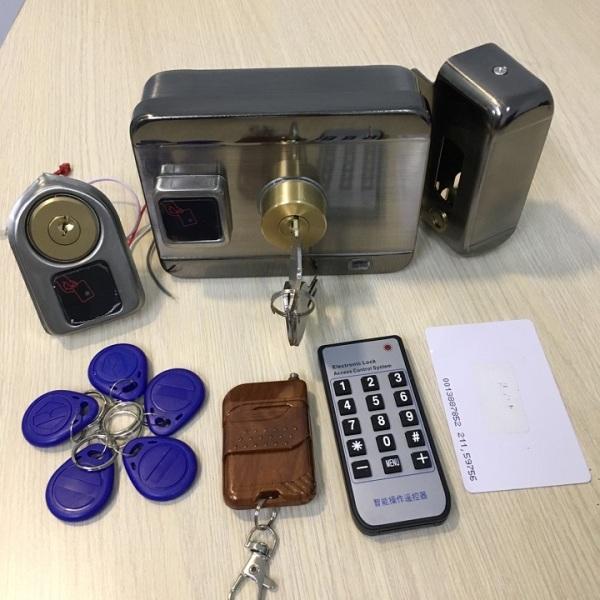 Khóa cổng điện tử thẻ từ SMART RIM RFID SG-201