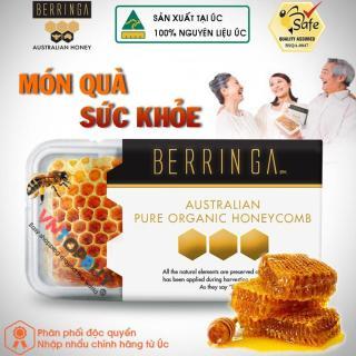 Mật ong tổ hàng của Úc 100% tự nhiên Nguyên chất Berringa HoneyComb 200g thumbnail