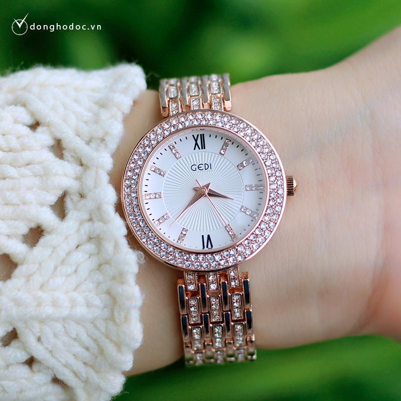 Nơi bán Đồng hồ nữ GEDI BEME + Tặng hộp & Pin