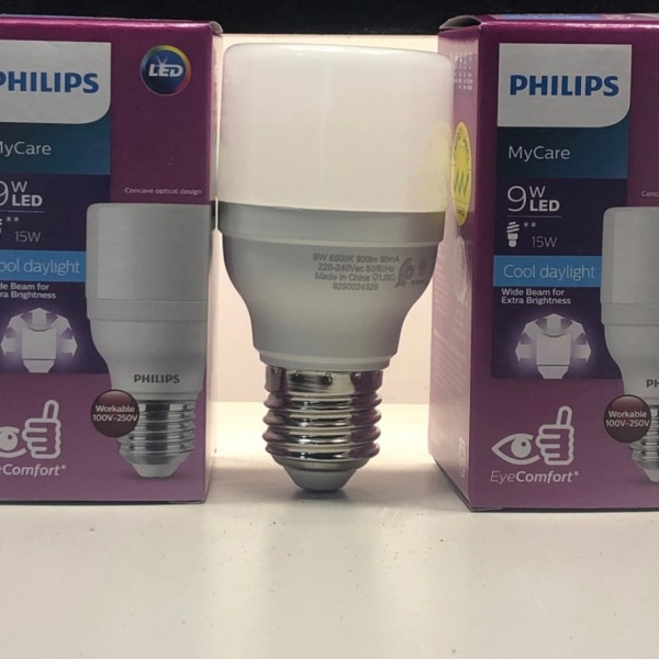 Bóng LedBright 9W E27 3000K - Led Philips